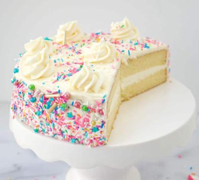 SUPER MOIST VANILLA CAKE