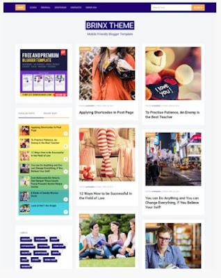 Tiga (3) Template Blog Pilihan Responsive Dari Bung Frangki