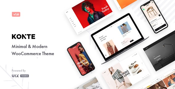 Minimal & Modern WooCommerce WordPress Theme