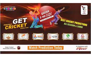 Today Match Prediction Raja Babu Qatar T10 League 2019