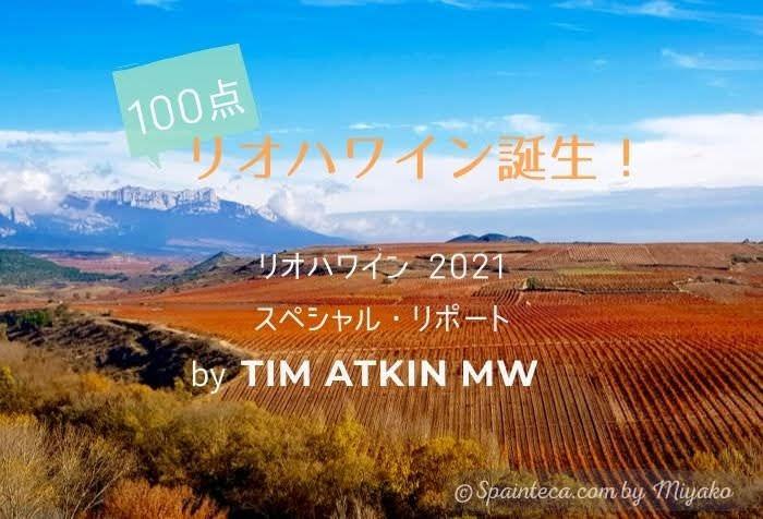 スペインの青い空の下に広がる紅葉したリオハのぶどう畑の風景