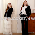 Jessica will show how you can wear your jacket in 4 ways! (English Subbed)
