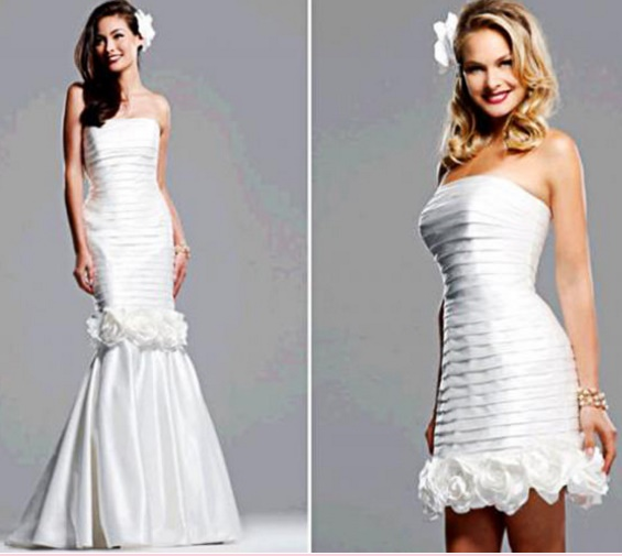 Vestidos%2B2%2Bem%2Bum18 - Uma noiva e 2 vestidos - Vestidos transformáveis 2 em 1