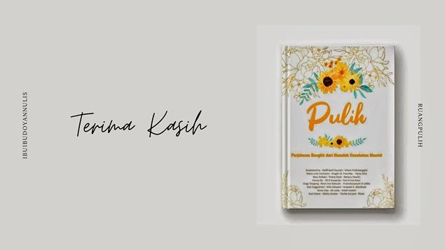 Pemesanan Buku antologi PULIH