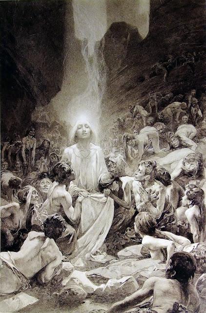 Альфонс Муха - Отче наш (6). 1899