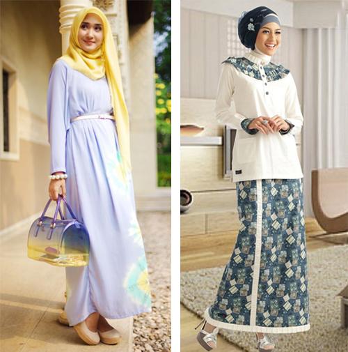 model baju hijab modis