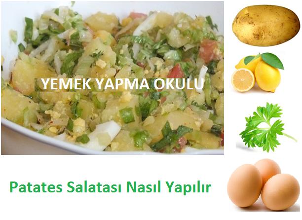 Patates Salatası Nasıl Yapılır