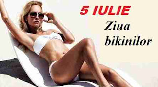 5 iulie: Ziua bikinilor