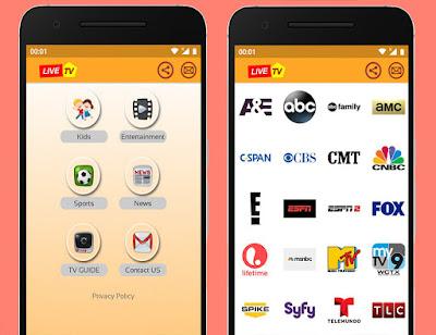 تطبيق US TV الأمريكي لمشاهدة جميع قنوات العالم المشفرة و المفتوحة