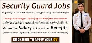 Security Guard Jobs vacancy in Drive Rent a Car LLC Dubai Location