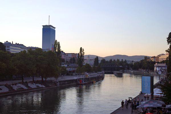 vienne innere stadt donau kanal canal 1er premier arrondissement