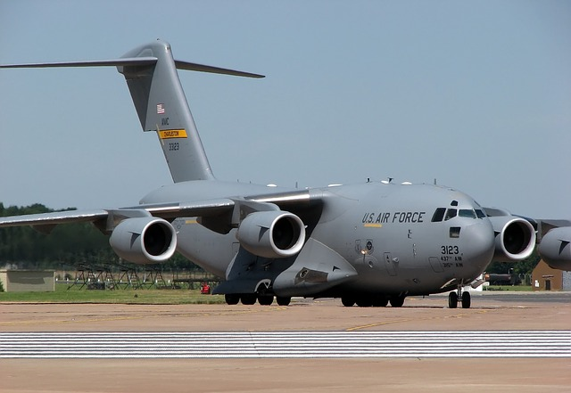 Pesawat cargo militer C-17 Globemaster