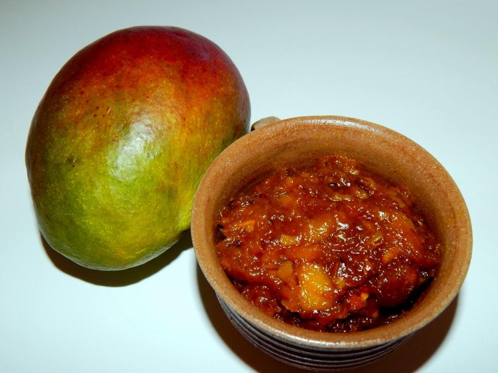 Mangové čatní