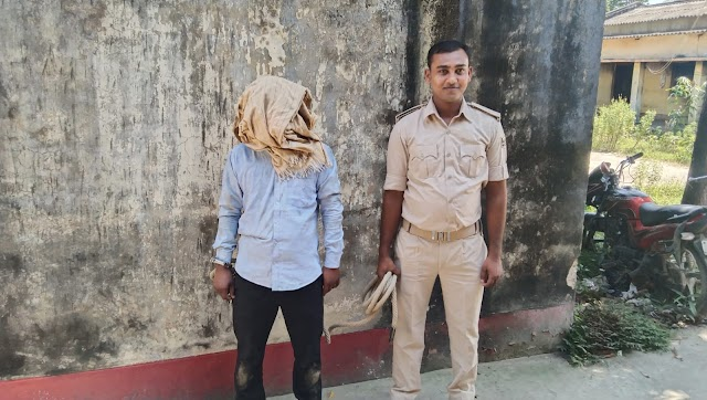 पाली के आशुतोष शराब के नशे में मधवापुर में गिरफ्तार