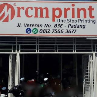 LOKER Disain Grafis RCMPRINT PADANG JANUARI 2019