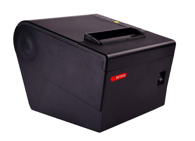 Retsol TP806 Direct Thermal Receipt and Billing High Speed Label Printer Compatible with ESC/POS