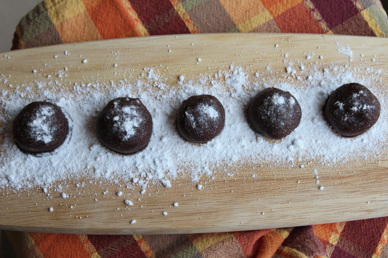 Chocolate Vegan Peanut Butter Balls
