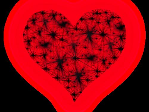 Fondos De Corazones Y Estrellas: Hearts Star,corazones Con Estrellas,png,san Valentin