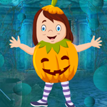 Games4King Cute Pumpkin Girl Escape