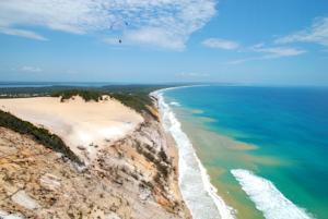 オーストラリアQLD州「レインボービーチ」の写真