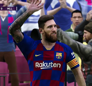PES 2020 Messi, Messi, Messi Crowd Chant by Mauri_d