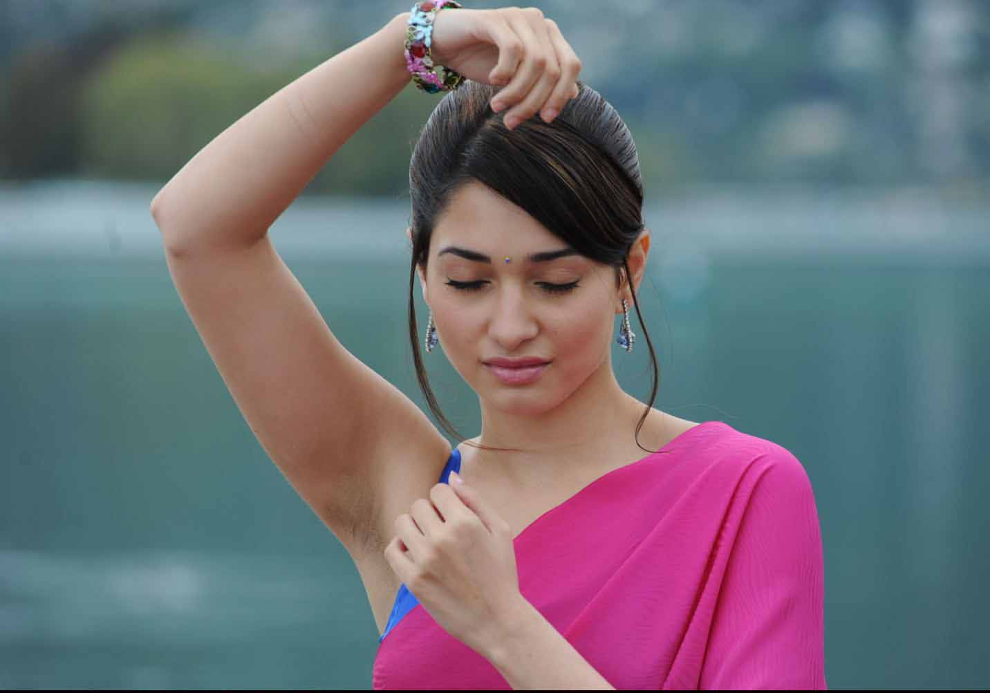 Tamanna Photo Gallery: South Mp3 Songs: Tamanna Latest Photo Gallery From Racha Movie