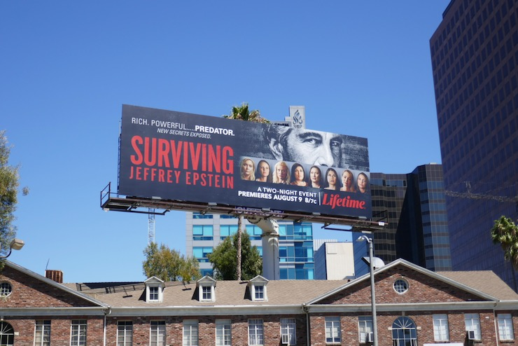 Surviving Jeffrey Epstein billboard