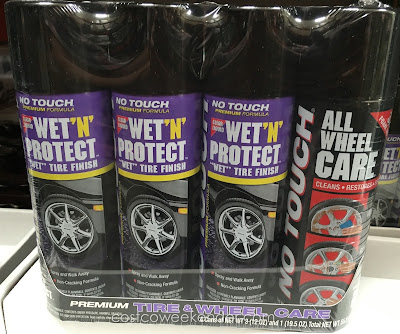Make your car look brand new with the No Touch Wet 'n Protect / All Wheel Care Combo pack