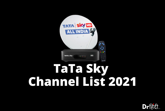 Tata sky channel list 2021