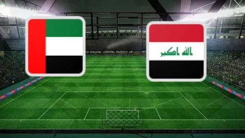 مشاهدة مباراة العراق والامارات بث مباشر اليوم 12-10-2021 تصفيات كأس العالم موقع عالم الكورة