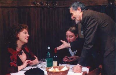 Lea con Stefania Sandrelli e Vittorio Gassman