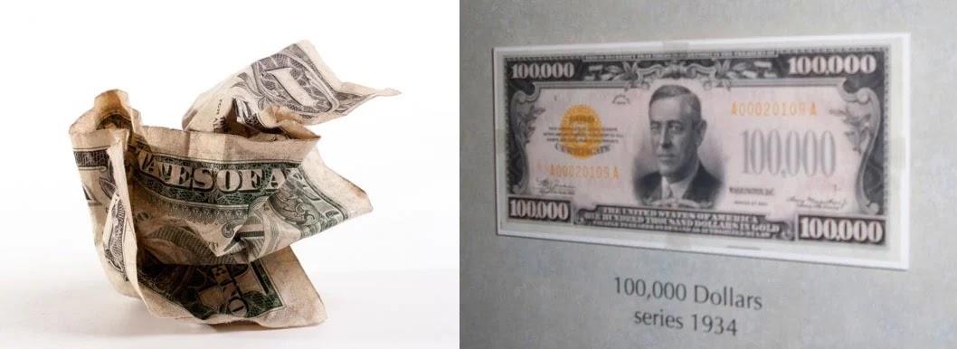 Những sự thú vị về tiền bạc khiến nhiều người bất ngờ