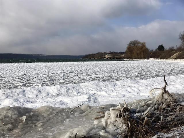 Дубоссарская ГЭС зима