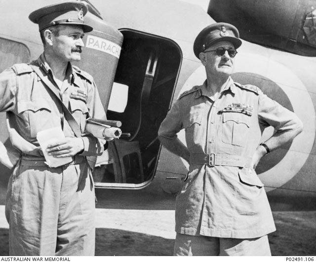 Wavell and Hutton, 20 March 1942 worldwartwo.filminspector.com