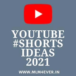 New Youtube Shorts Ideas