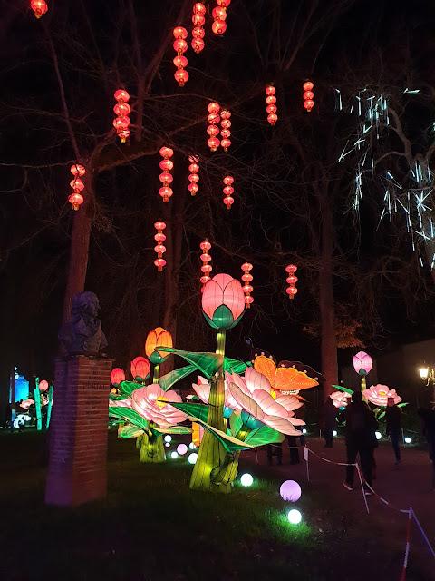Festival Lanternes Gaillac Blog Hélidée Lampions rouges