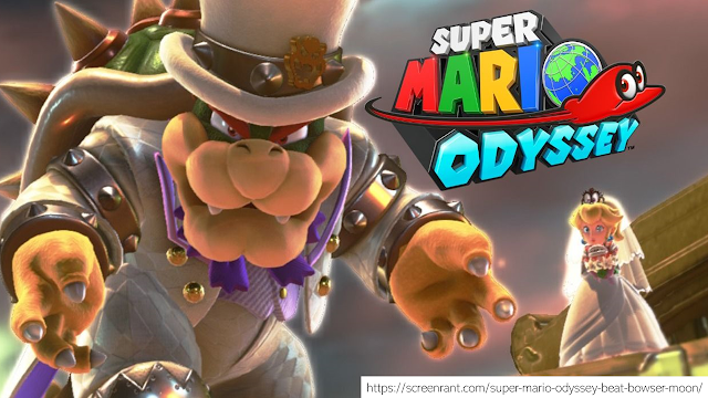 Cara Bermain Super Mario Odyssey
