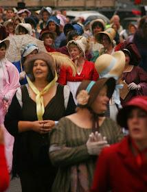 The Jane Austen Festival Promenade