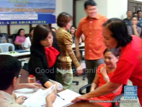 Cynthia Villar Files CoC