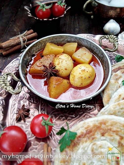 Resep Parata Kentang : resep, parata, kentang, Citra's, Diary:, Canai, Paratha, Maryam,,