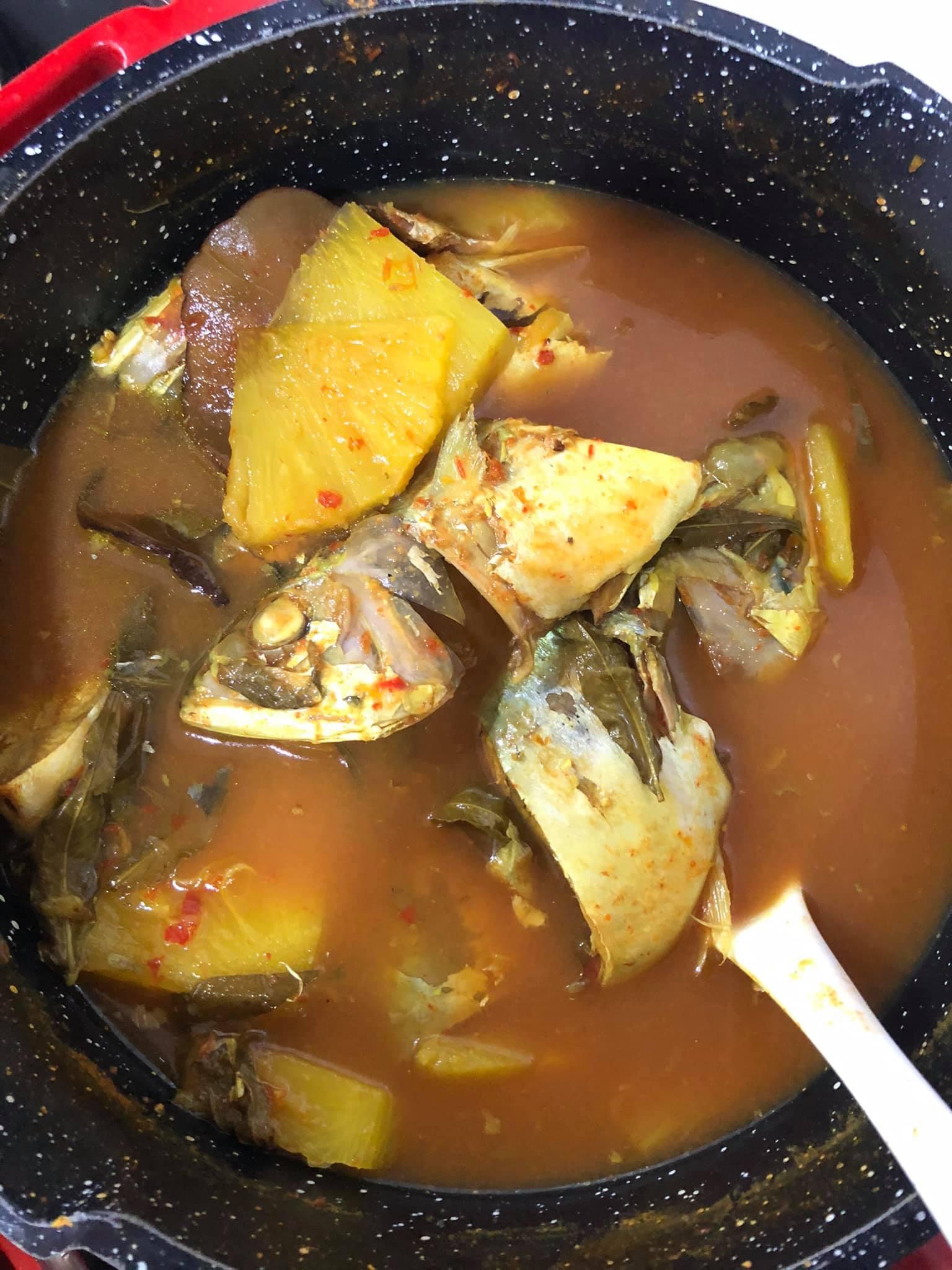 Resepi Asam Rebus Ikan Kembong Nanas Paling Mudah Tapi Sedap