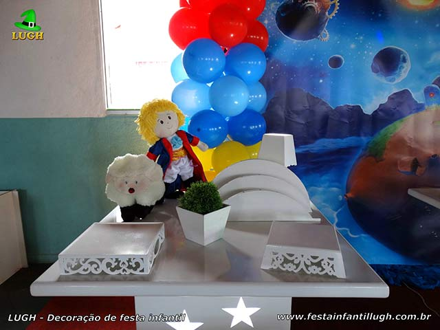 Decoração de festa do Pequeno Príncipe - Aniversário infantil
