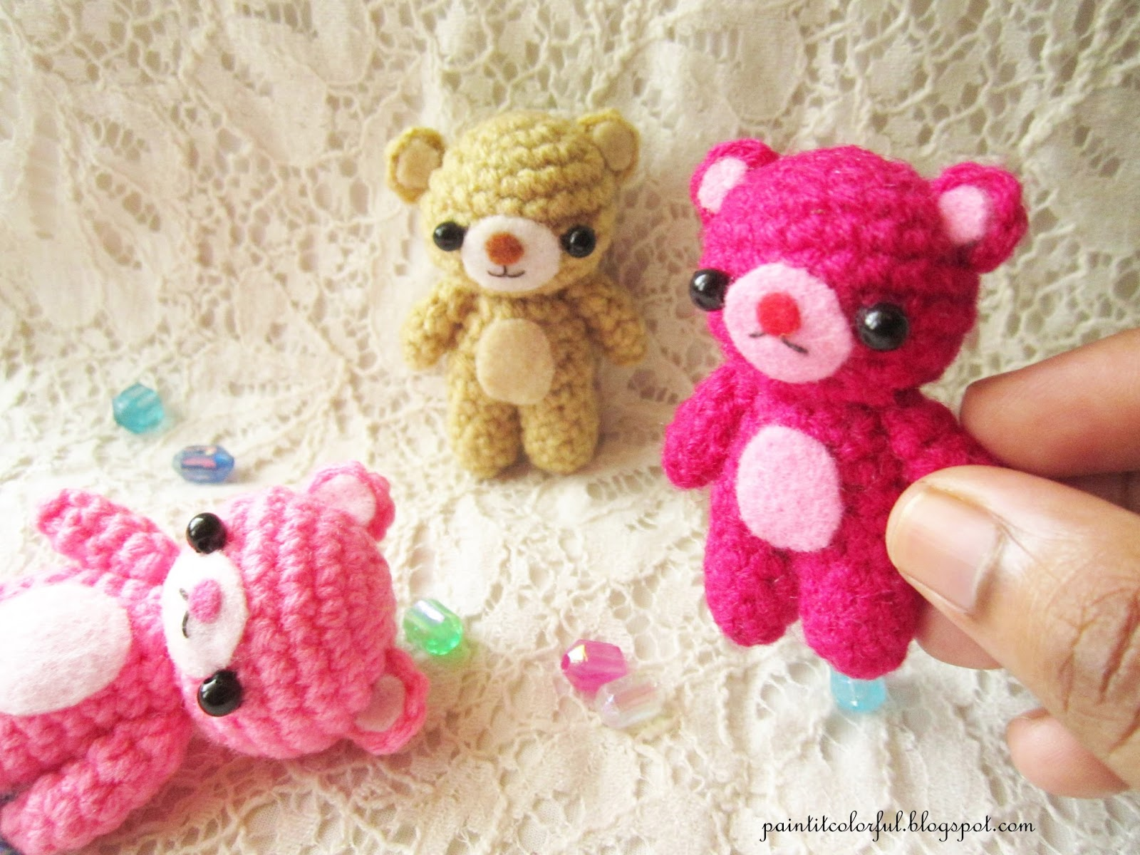 Amigurumi Free Patterns Bear : Amigurumi teddy bear pattern a little love everyday!