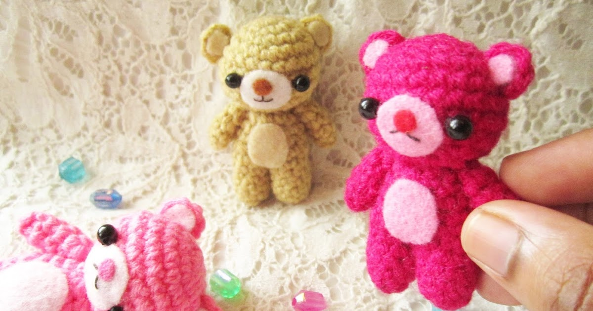 Amigurumi Little Teddy Bear : A little love everyday!: Amigurumi Teddy bear pattern