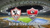 مباراة غزل المحلة والزمالك بث مباشر بتاريخ 02-02-2021 الدوري المصري