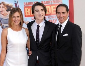Brenda Strong with her ex-husband Tom and their son Zak