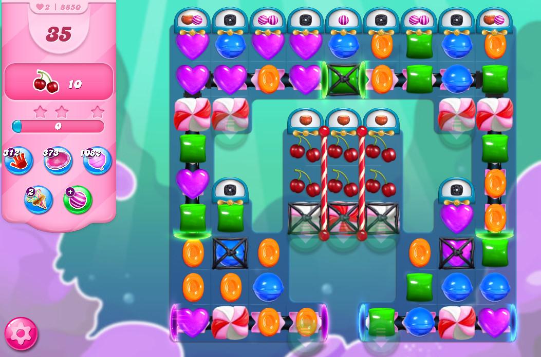 Candy Crush Saga level 8850