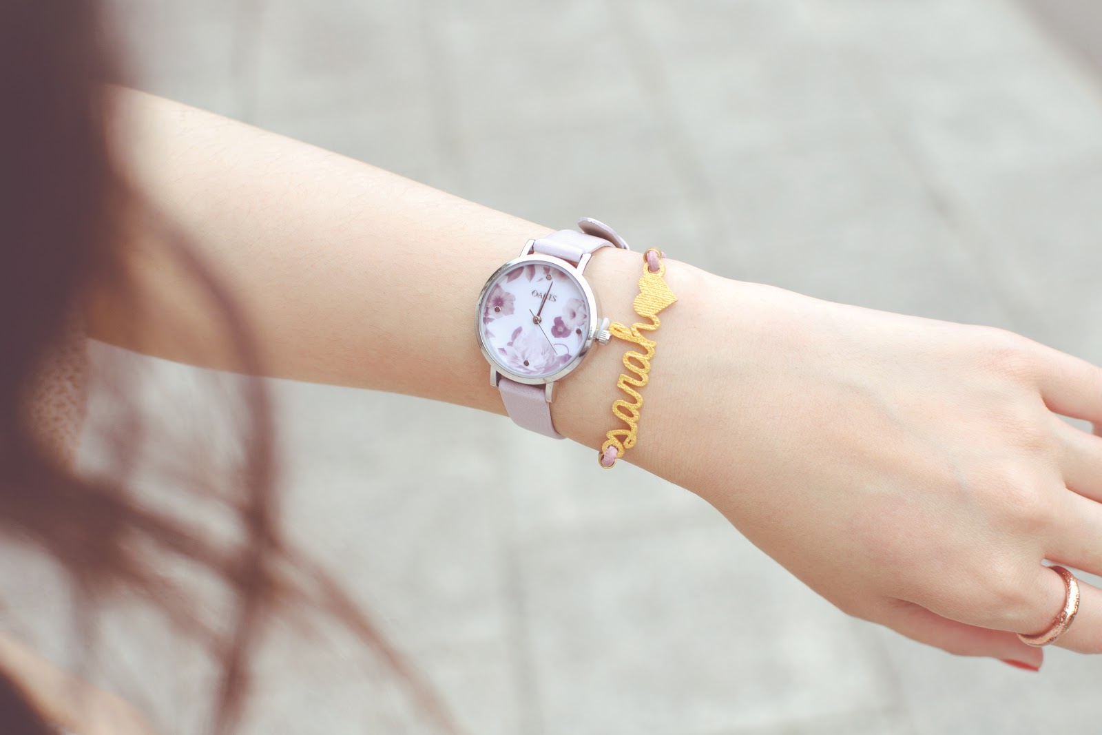 pastel purple watch from avon