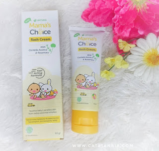 Review Mama's Choice Baby Rash Cream
