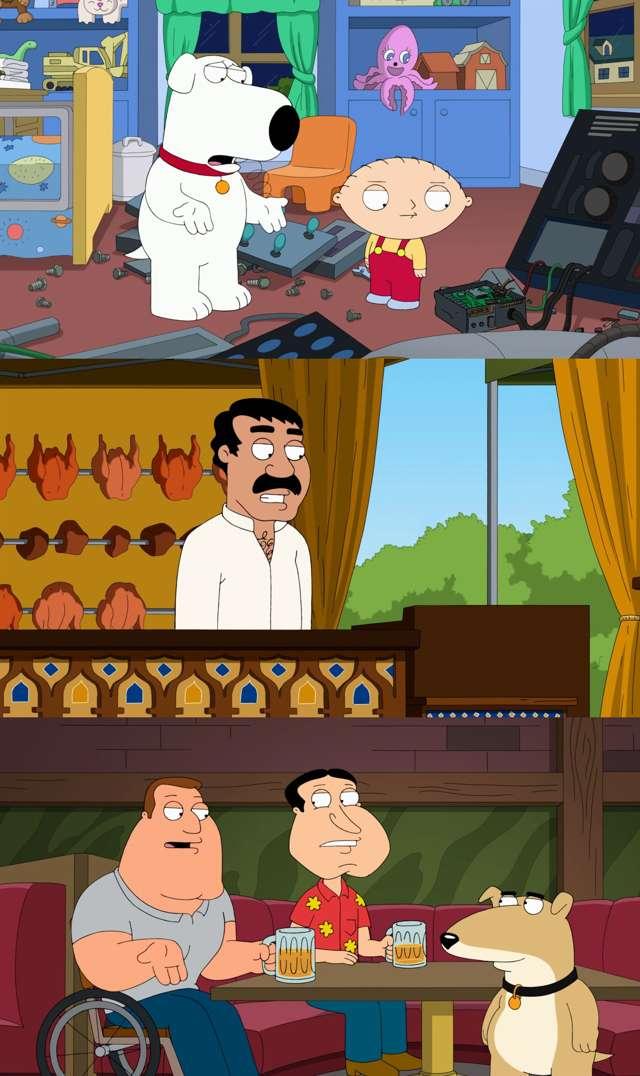 Padre de Familia Temporada 12 Completa HD 1080p Latino Dual